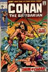 Conan the Barbarian  1  FI/VF to VF+.   Small thumbnail graphic may/may not display actual item for sale.  Cover Scans of actual item may be available for valuable items by emailing orders1@oldmold.com.