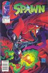 Spawn  1  VF/NM to MINT.   Small thumbnail graphic may/may not display actual item for sale.  Cover Scans of actual item may be available for valuable items by emailing orders1@oldmold.com.